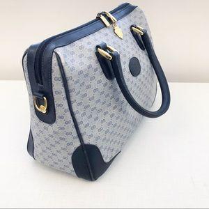 5ecca0fa12d Gucci Bags - ⚜️HP⚜️Vintage Gucci GG Navy Satchel Orig Bag Charm